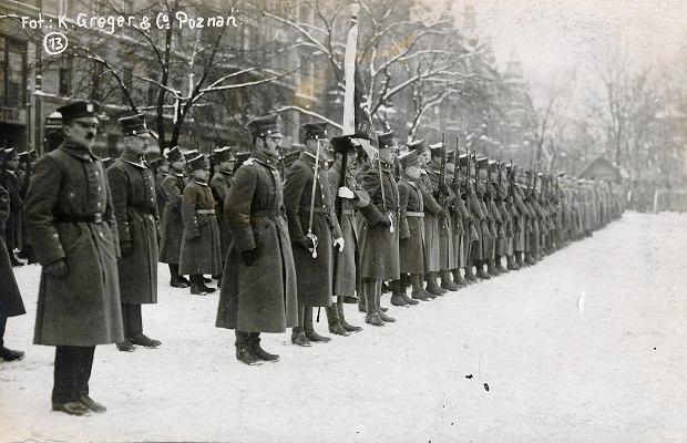 Powstanie wielkopolskie wybuchło 27 grudnia 1918 roku
