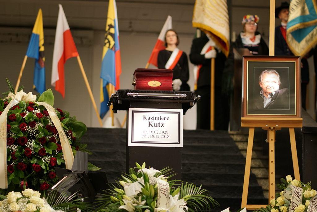 * Uroczystosci pogrzebowe Kazimierza Kutza