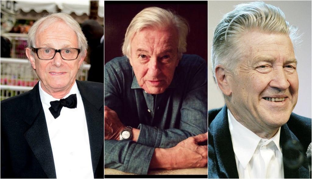 Ken Loach, Paul Verhoeven, David Lynch |
