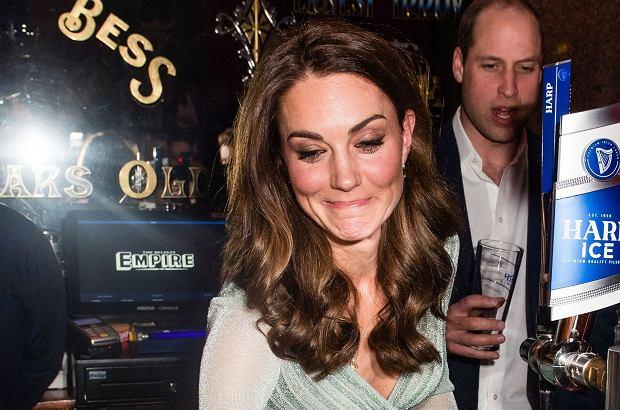 Kate Middleton  w pubie w lutym 2019