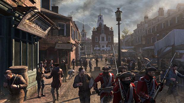 Kadr z gry 'Assassin's Creed III'