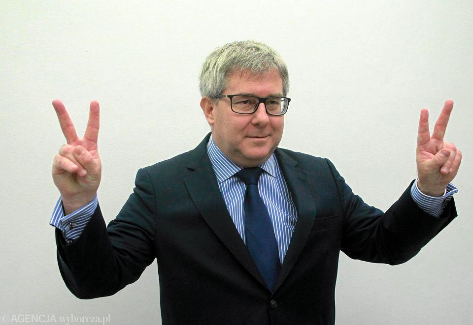 Europosel Ryszard Czarnecki, wiceprzewodniczący Parlamentu Europejskiego, poseł PiS
