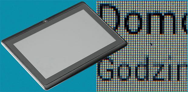 tablet, apple, android, Przegląd małych tabletów, Tablet Apollo Quicki 728