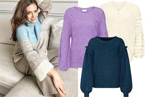 swetry z rękawami XXL/mat. partnera / www.instagram.com/aniawendzikowska/