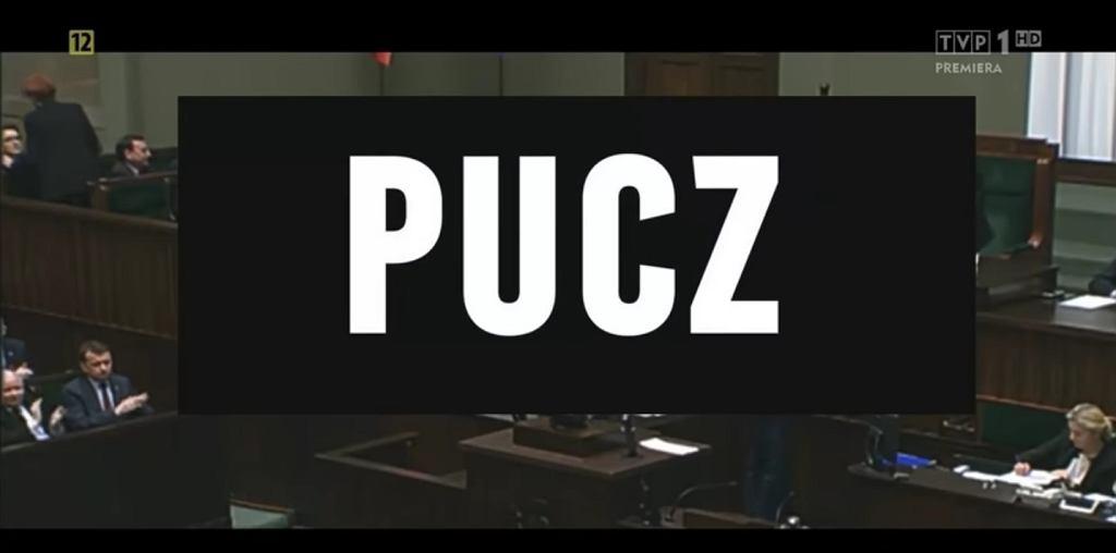 Kadr z filmu 'Pucz'