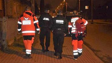 Patrol białostockich strażników miejskich i ratowników medycznych