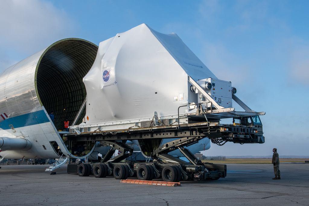 Kosmiczny transport kapsuły Oriona