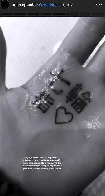 Ariana Grande Ma Nowy Tatuaż Z Paskudnym Błędem Zobaczcie