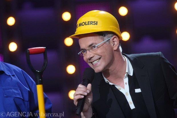 Robert Janowski na scenie (fot. Rafał Mielnik / Agencja Gazeta)