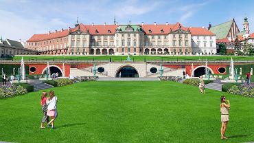 Odtworzenie ogrodów dolnych Zamku Królewskiego w Warszawie