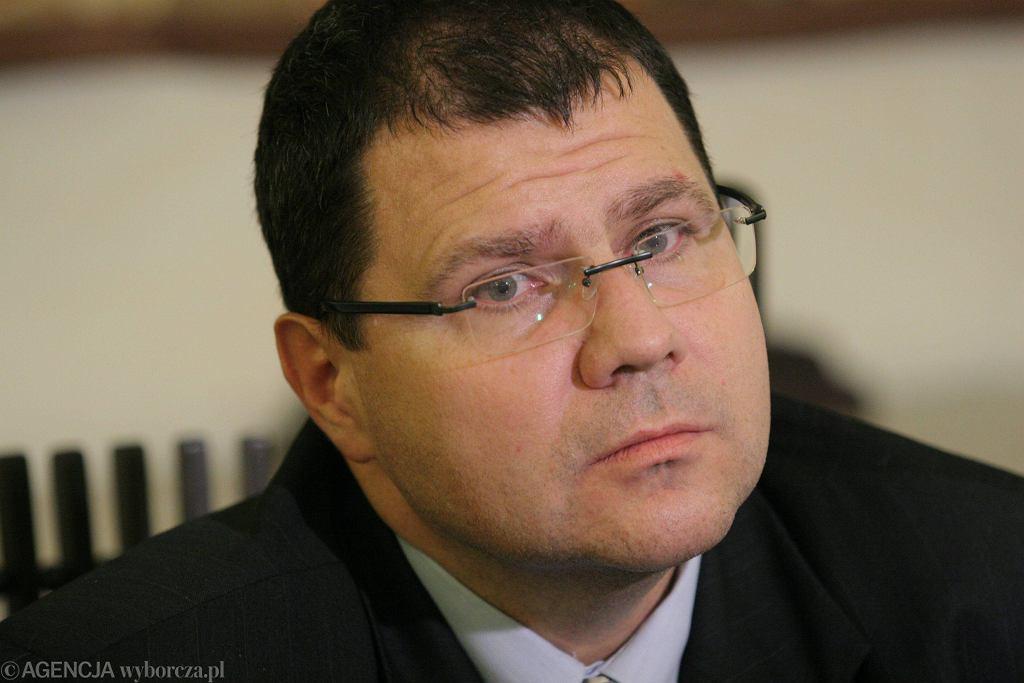 Sędzia Mariusz Muszyński (fot. Wojciech Surdziel/AG)