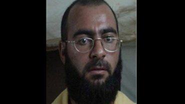 """Abu Bakr al Bagdadi, późniejszy lider """"Państwa Islamskiego"""" w 2004 r."""