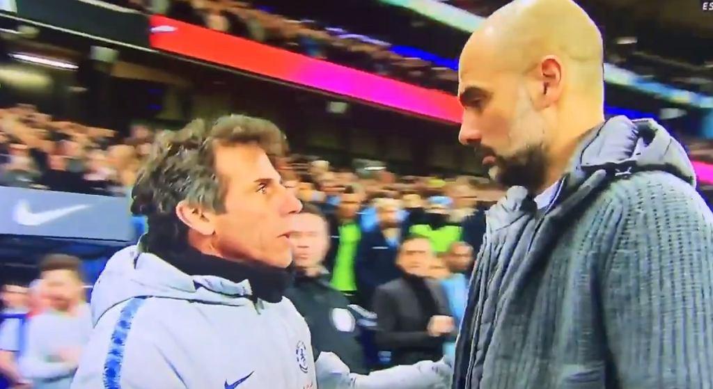 Pep Guardiola zaskoczony zachowaniem Sarriego