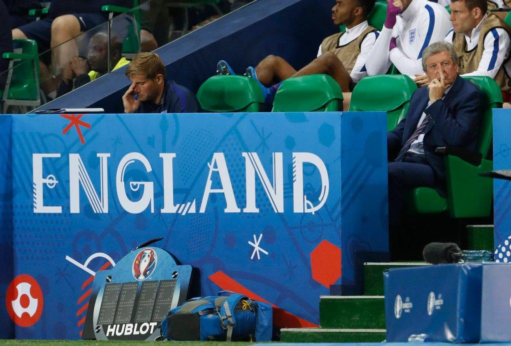 Roy Hodgson, selekcjoner reprezentacji Anglii
