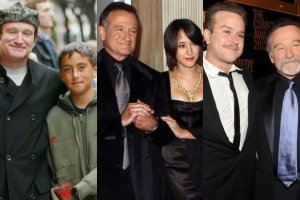 Robin Williams, Zachary Williams, Zelda Williams, Cody Williams