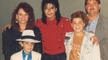 'Leaving Neverland', dokument HBO; Michael Jackson, Wade Robson z rodziną