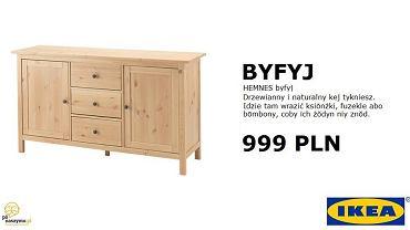 Byfyj, szolka, krauza - produkty IKEA po śląsku brzmią dla przeciętnego Polaka podobnie niezrozumiale, jak po szwedzku