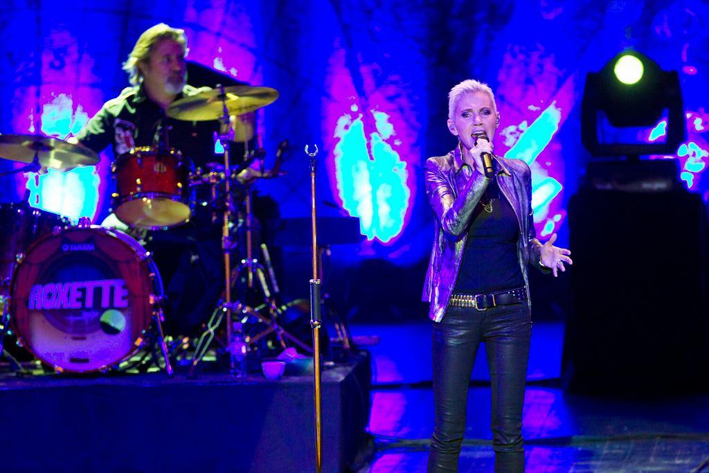 Roxette na koncercie w Moskwie