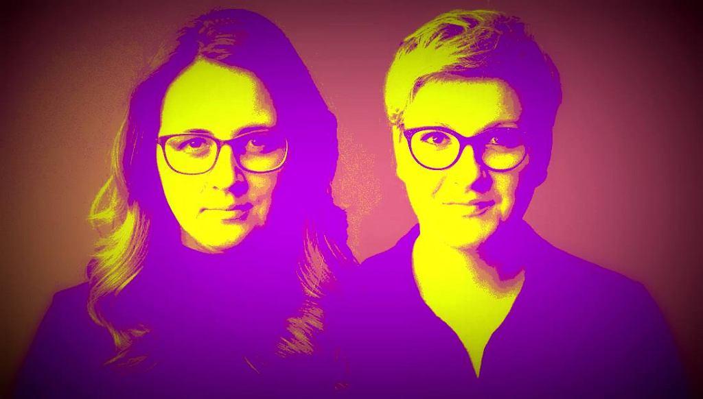 Zuzanna Piechowicz i Anna Piekutowska. Autorki podcastu tokfm.pl 'Szkoda czasu na złe seriale'