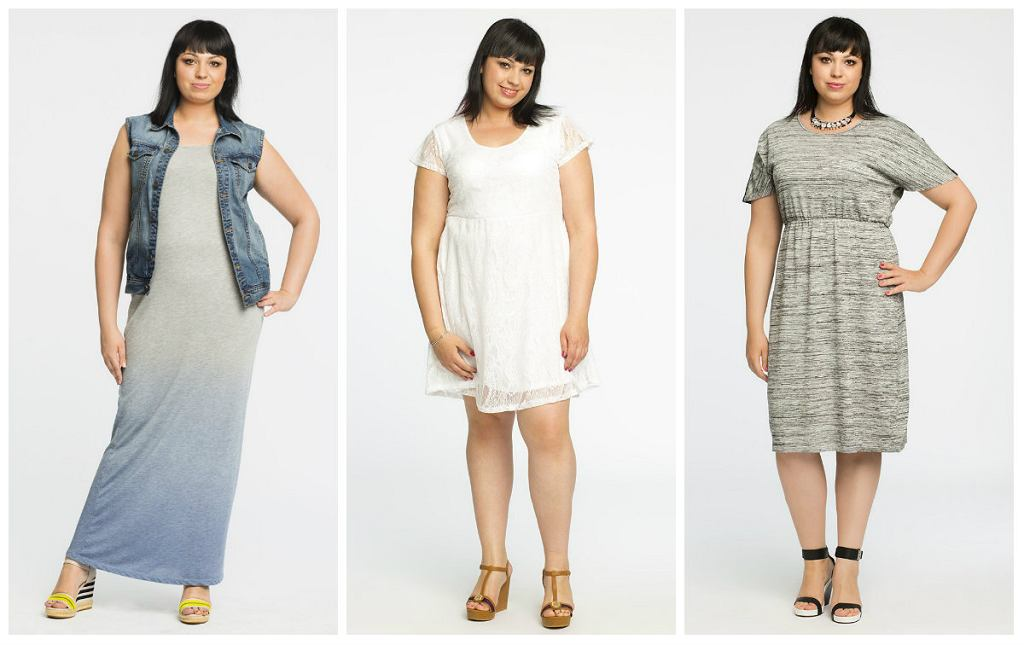 Sukienki plus size - przegląd modeli na każdą okazję