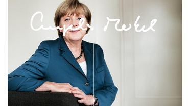 Strona internetowa Angeli Merkel