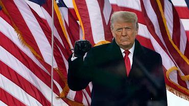 Wiec poparcia dla Donalda Trumpa