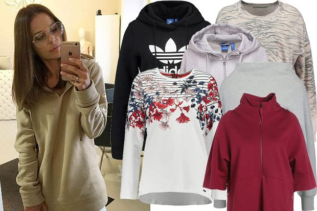 Kolaż, bluzy/ Materiały partnera/fot. www.instagram.com/paulinasykutjezyna/