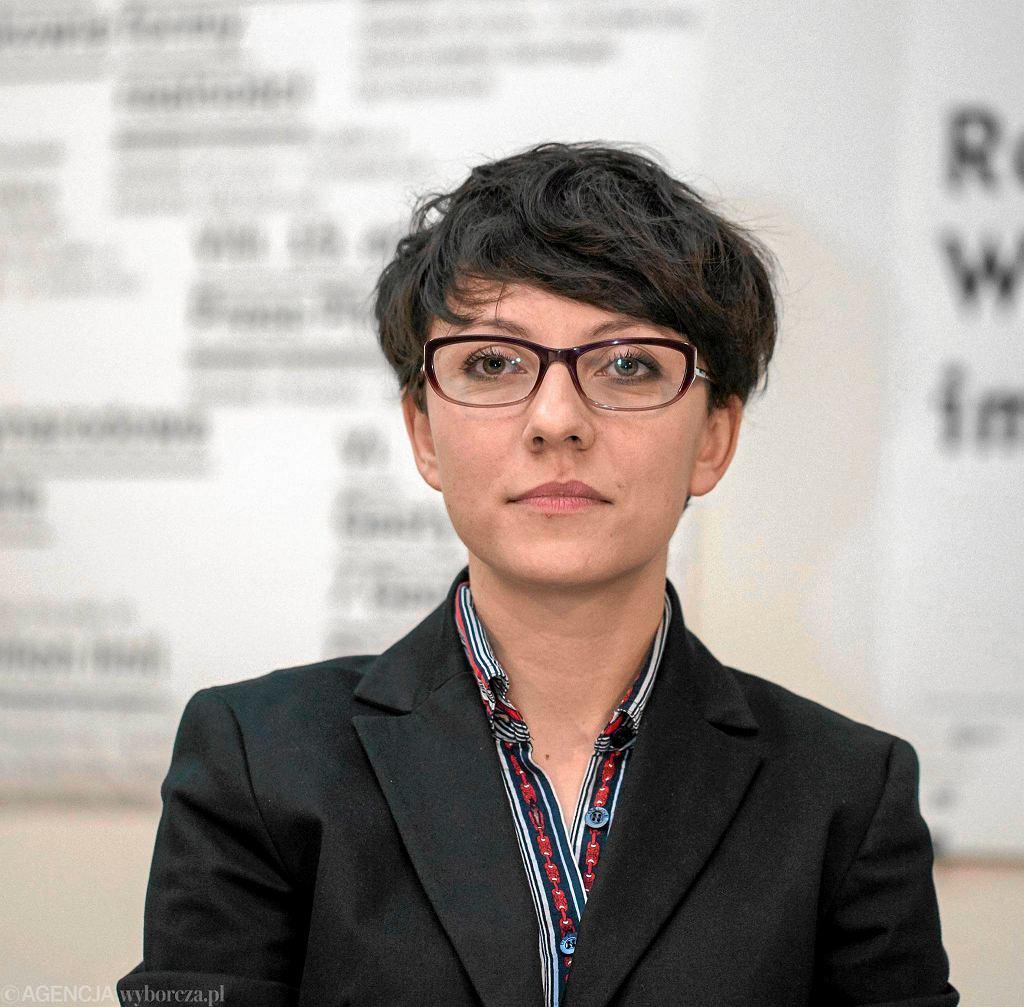 / Dyrektorka Bunkra Sztuki Magdalena Ziolkowska . Fot. Jakub Ociepa / Agencja Gazeta