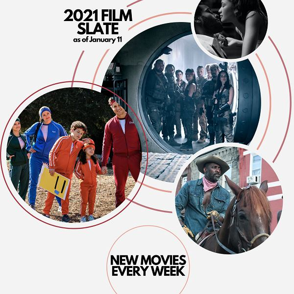 Nowe filmy Netflix co tydzień