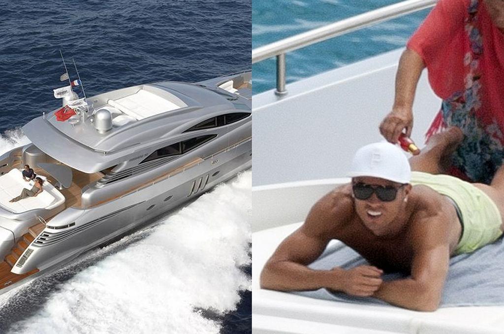 Cristiano Ronaldo regeneruje siły po wyczerpującym sezonie pływając u wybrzeży Ibizy luksusowym jachtem.