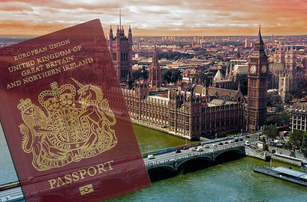Brytyjski paszport