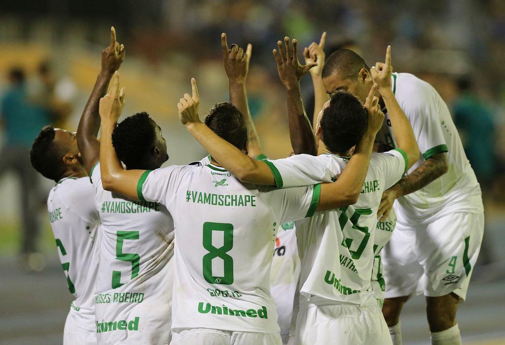 Mecz Chapecoense z Zulia FC