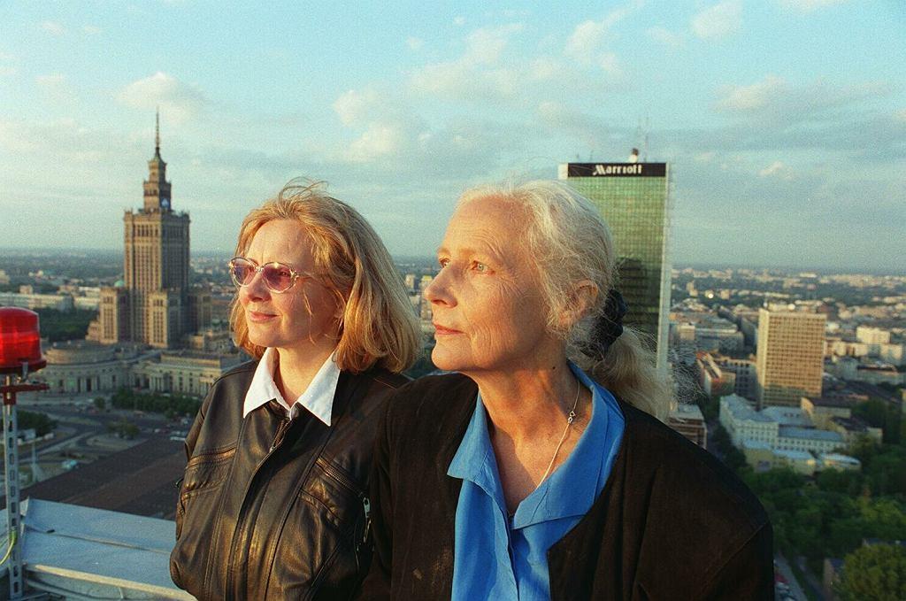 Agnieszka Osiecka i Magda Umer
