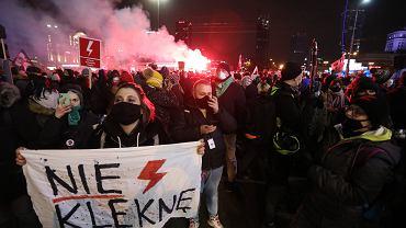 Demonstracja Strajku Kobiet