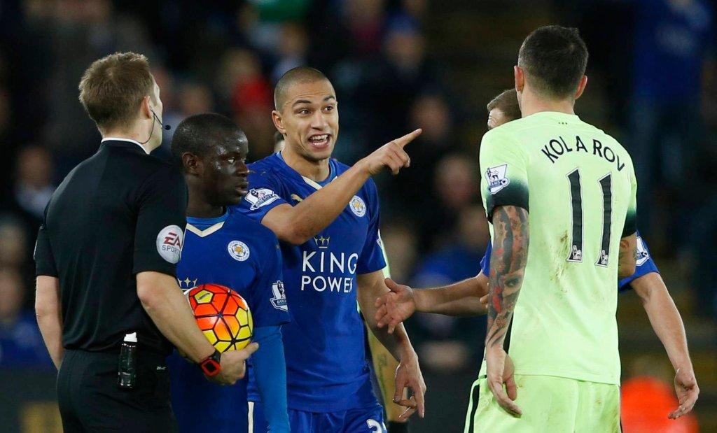 Leicester - Manchester City 0:0. Gokhan Inler i Aleksandar Kolarov
