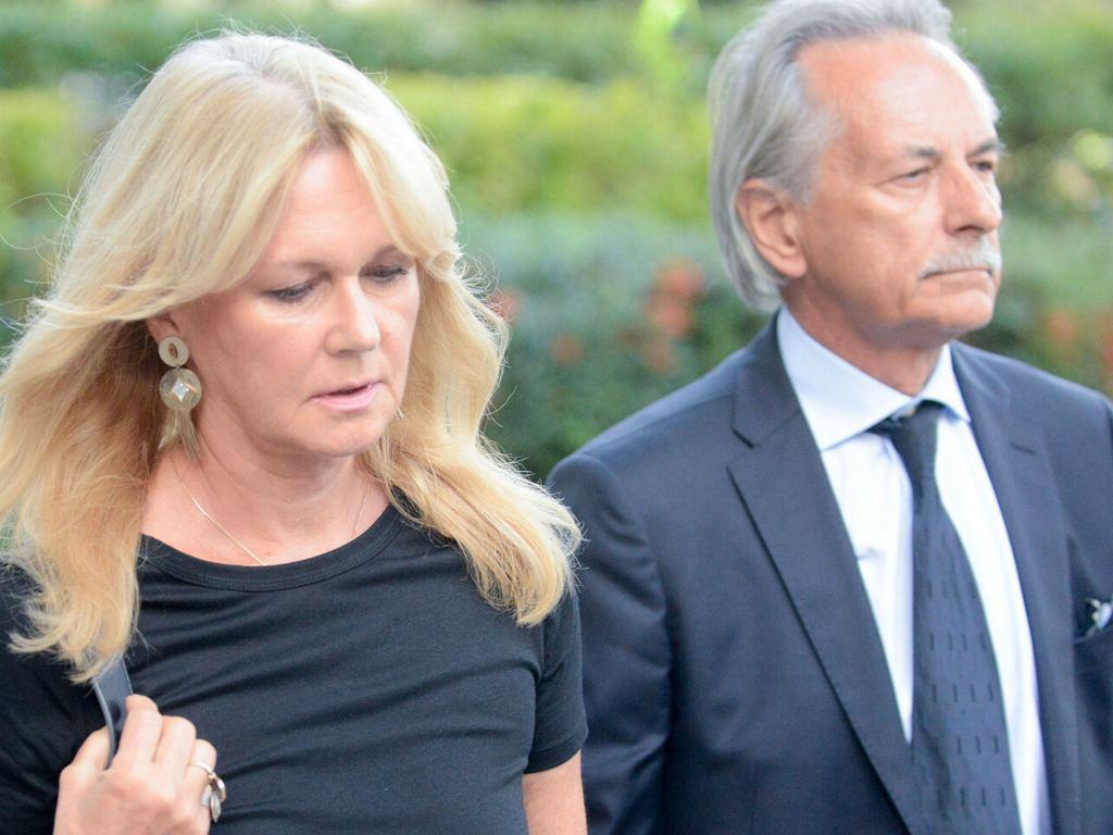 Grażyna Torbicka z mężem