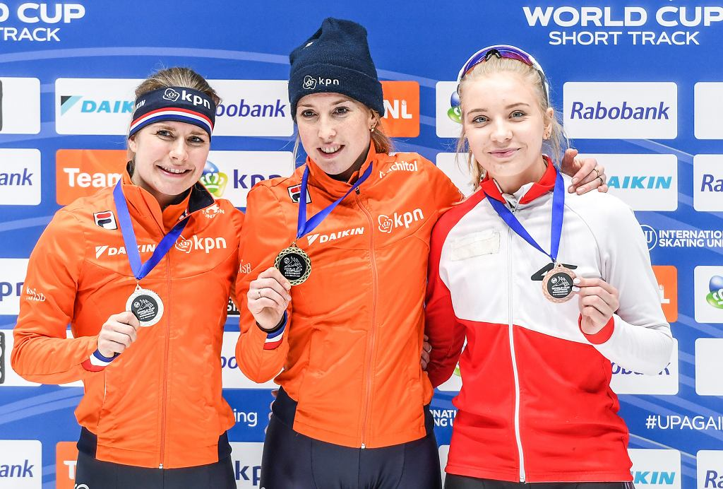 Yara van Kerkhof, Lara van Ruijven i Kamila Stormowska