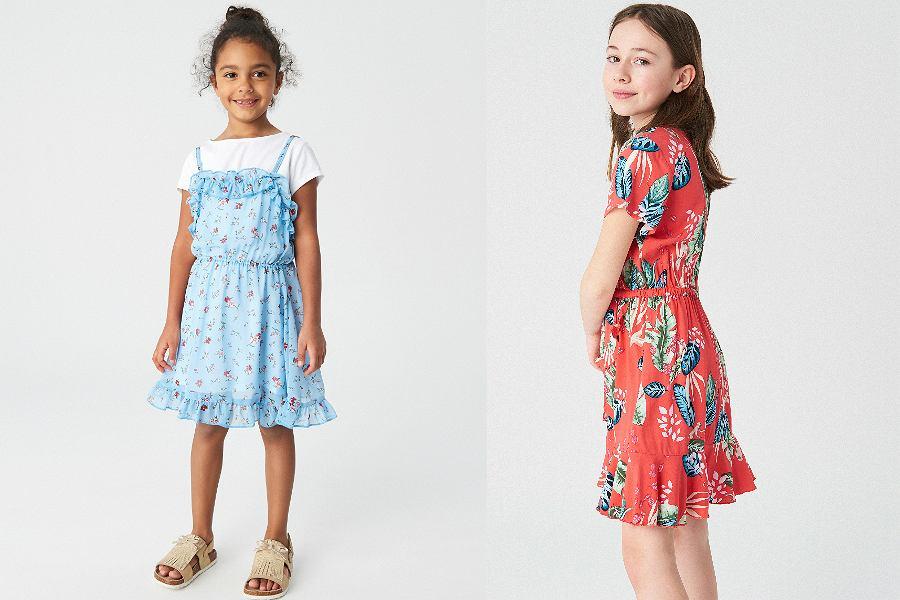 sukienki dla dziewczynek na co dzień