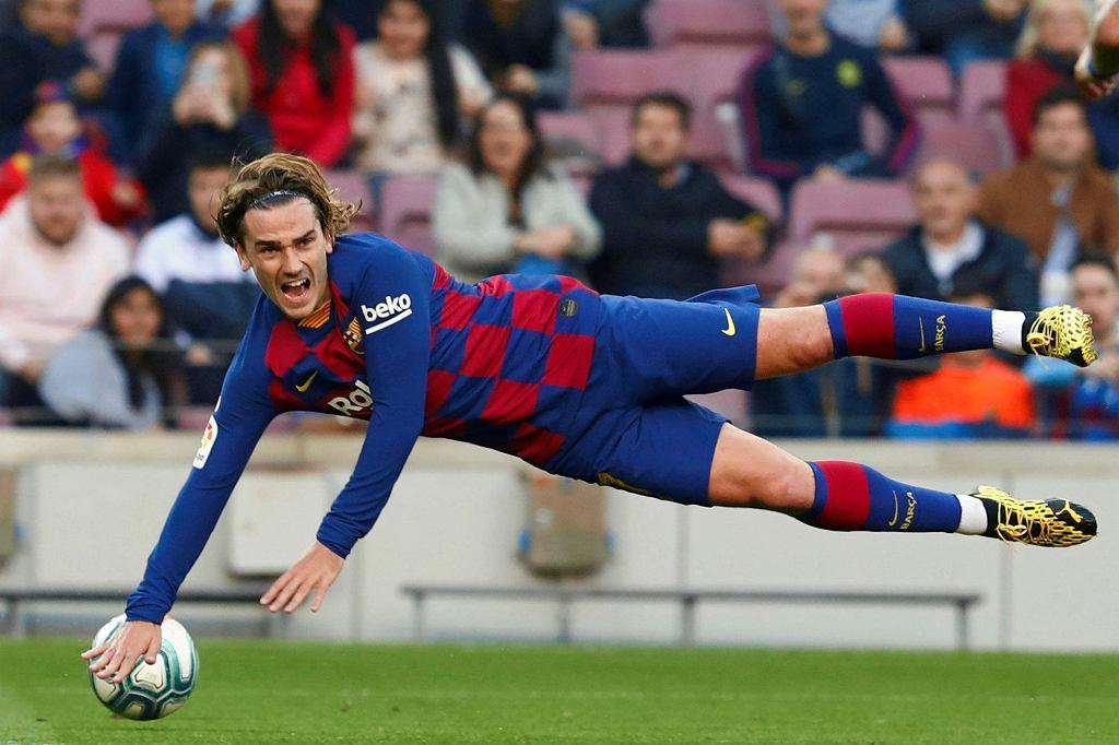 Antoine Griezmann zdobył dla Barcelony 14 goli, ale niewiele z tego wynika