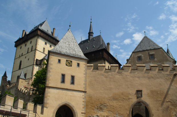 Czechy, zamek Karlstejn