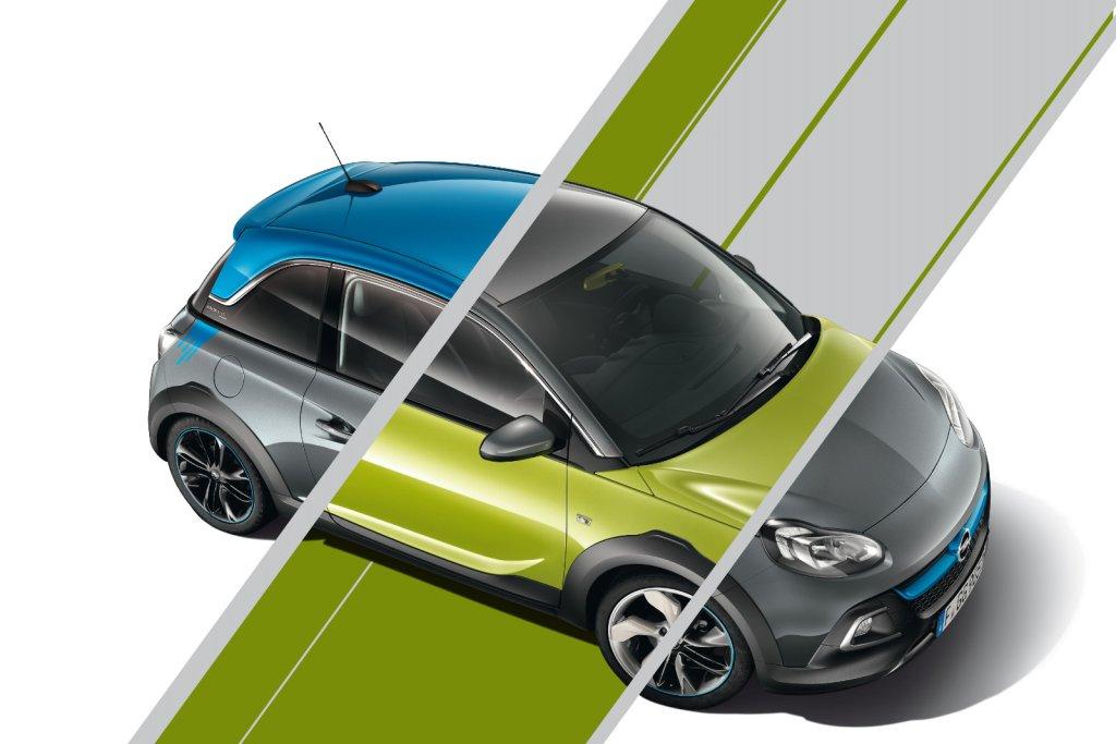 Opel Adam i Opel Adam Rocks Unlimited