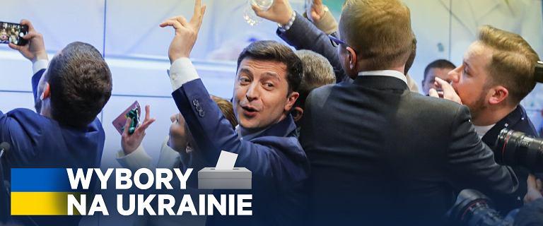 Wybory na Ukrainie. Exit poll: W II turze zwycięża Wołodymyr Zełenski