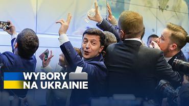 Wybory na Ukrainie. Wołodymyr Zełenski zwycięża w II turze