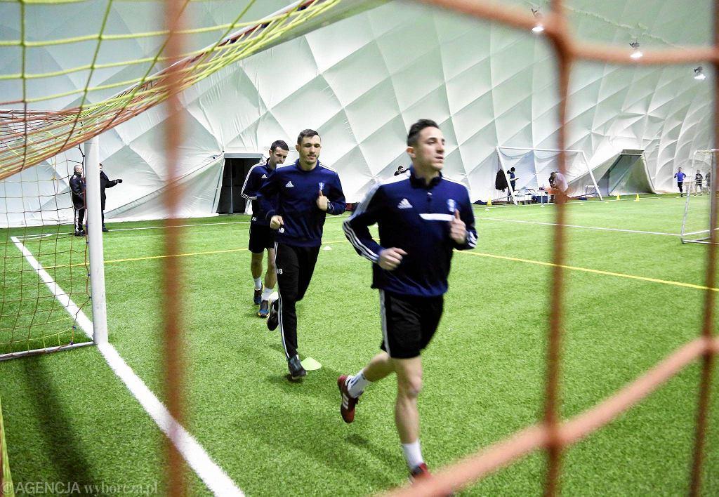 Piłkarze Wisły Płock przygotowują się do rundy wiosennej I ligi