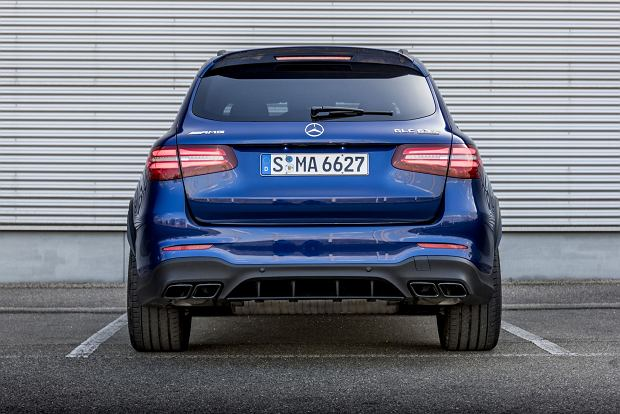 Mercedes-AMG GLC 63 S 4MATIC+ Pressefahrvorstellung Metzingen 2017// Mercedes-AMG GLC 63 S 4MATIC+ press test drive Metzingen 2017