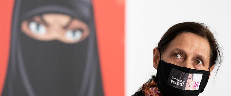 Szwajcarzy zagłosowali inaczej, niż chciał rząd. Zakaz noszenia burek i nikabów