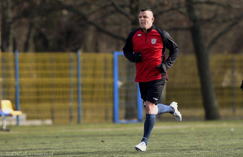 Dawid Janczyk w barwach MKS Ciechanów