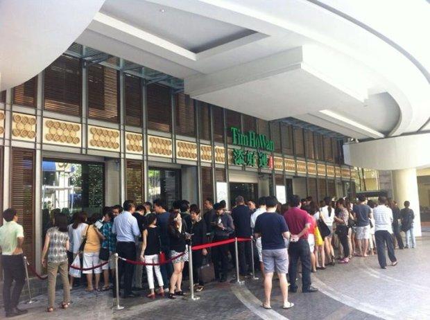 Singapur, restauracja Tim Ho Wan