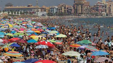 Hiszpania, plaża w Walencji