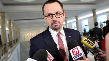 Marcin Horała, przewodniczący komisji sejmowej